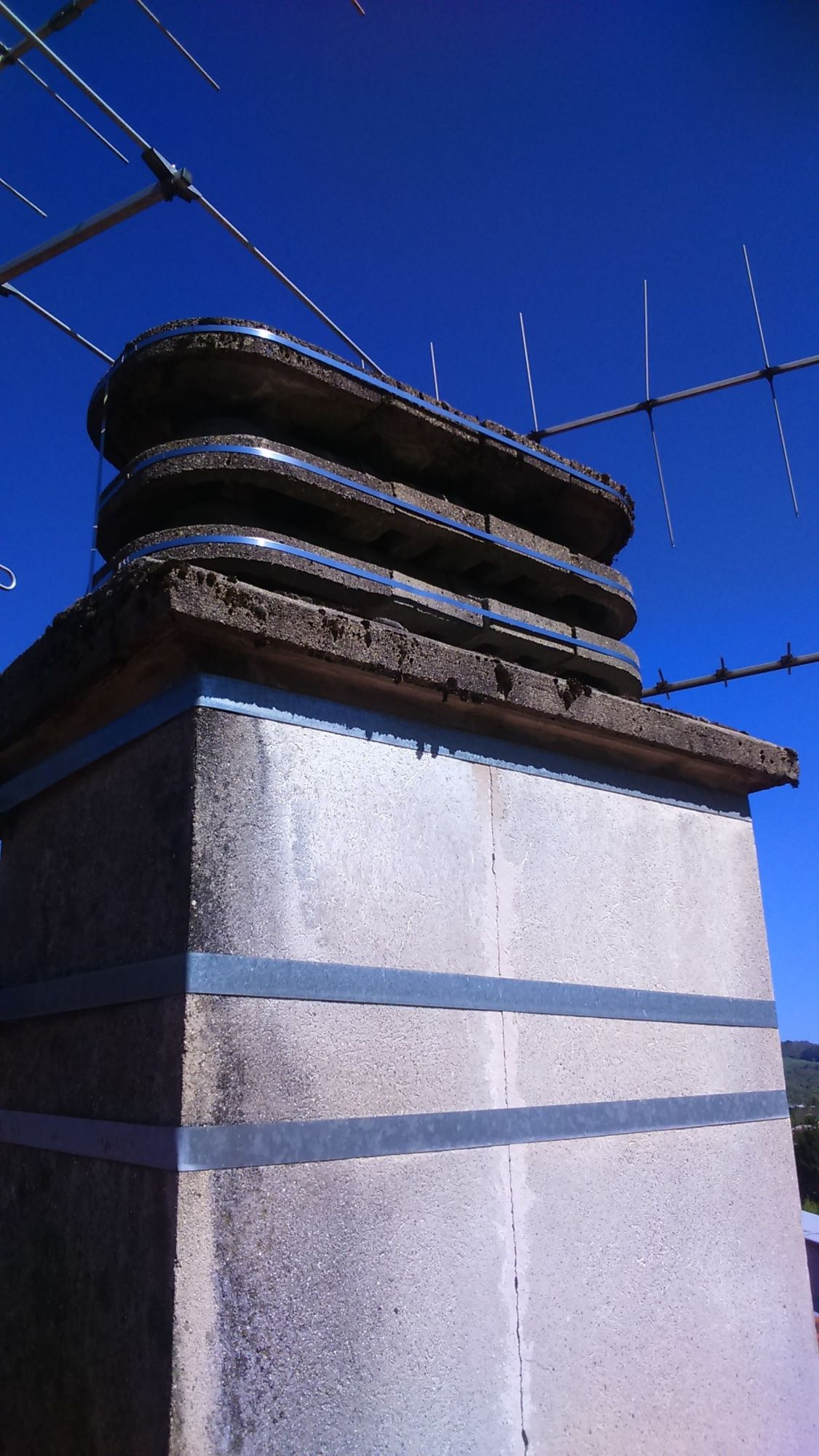 Travaux de mise en sécurité de cheminée