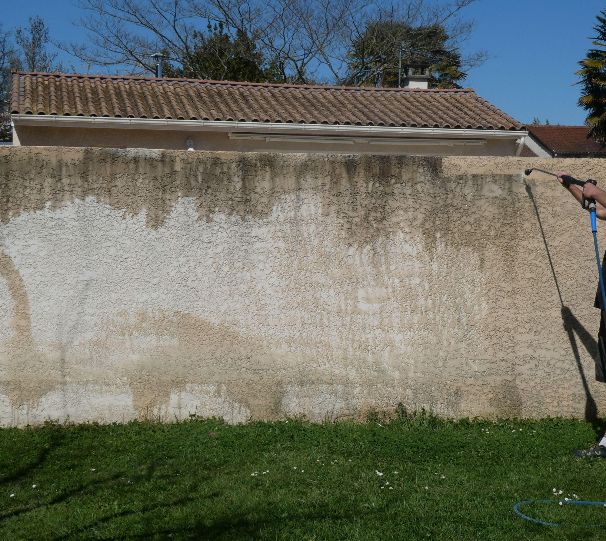 nettoyage d'une façade