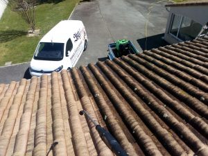 Nettoyage vapeur façade/toiture et hydrocurage descente